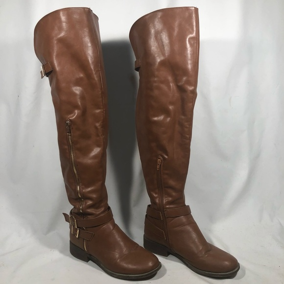 d5ab74829d BAMBOO Shoes | Over Knee Boots Jagger11 Faux Leather | Poshmark